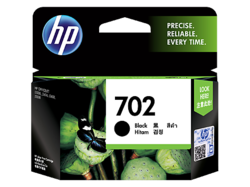 HP 702 Black Hitam Ink Cartridge