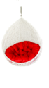 Carry Bird White And Red Swing