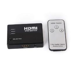 3 Port HDMI Switcher With Remote