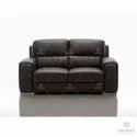 Modern Black Buffalo Rexine Sofa For Home