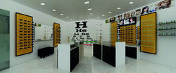 Optical Showroom Interior Designer & Execution, Retail Store, Budget Shop