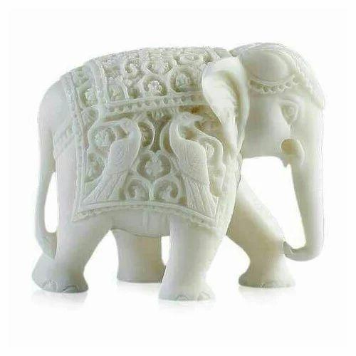 White Elephant Statue For Exterior Decor Rs 21000 Piece