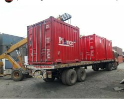 Color Coated Used Containers Rental Services