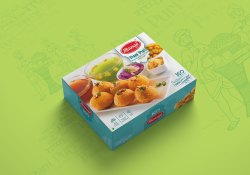 Food Snacks And Beverages Panipuri Packaging Design Packaging Design Service