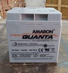 Amaron Quanta 12V-26Ah Battery, Model No: 12V-26ah