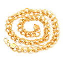 SSGJ Gold Plated Chain for Men And Women Gold Plated Brass Chain