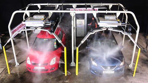 Automatic Twin Car Washing System