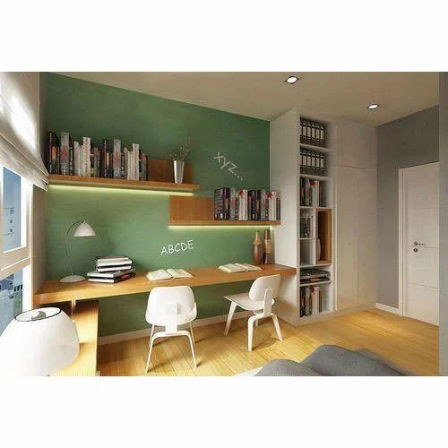 Study Room Interior Designing Service In Pandav Nagar Delhi