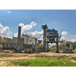 Road Construction Asphalt Batch Mix Plant