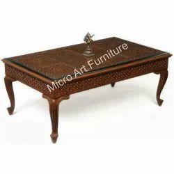 Teak Wood Center Table