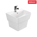 Somany Ceramic Wash Basin - French Collection For Home