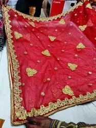 Red Bridal Dupatta
