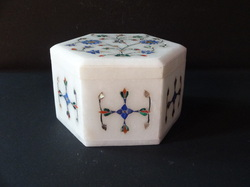 Marble Inlay Work Christmas Gift Box