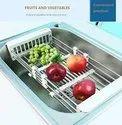Stainless Steel Kitchen Drain Shelf Rack Fruit Vegetable Wash Stand- DRAIN-RACK