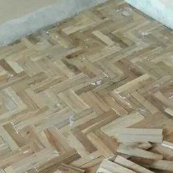 Auditorium Teak Wooden Flooring