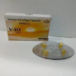 V-D3 Softgel Capsules