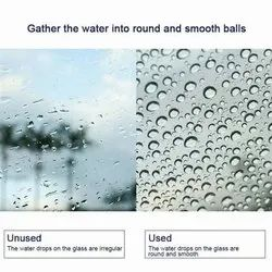 Water repellent nano coating for glass