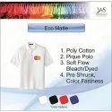 Mens Polo Neck Eco Matte T-Shirts