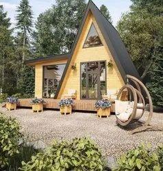 A Frame Cottage Steel Frame