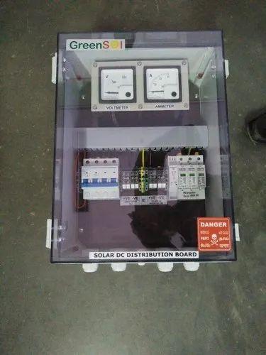 DC Distribution Board   Green Sol Renewable Power Pvt  Ltd