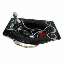 Ceramic Black Stylish Wash Basin