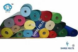 Colour Non Woven Felts