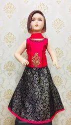 Kids Ghagra Choli Designs for Girls