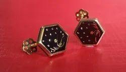 Define jewellery 18 Kt Gold Earings