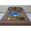 Rajasthani Print Cotton Bed Sheets