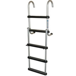 Aluminum Straight Solid Rod Hook Ladder