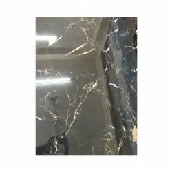 Ceramic Black Floor Tiles, Thickness: 10 mm