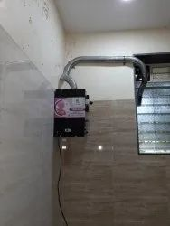 Automatic Electrical Incinerator- 100 pads/day without Temp. Controller