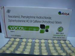 Paracetamol Phenylephrine Hcl Cetirizine Tablet