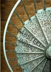 Mild Steel Cast Iron Spiral Staircases