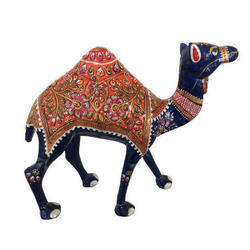 Camel Embossed Statue