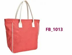 Short Cotton Padded Open Jute Carry Bags, Model Name/Number: Fb 1013