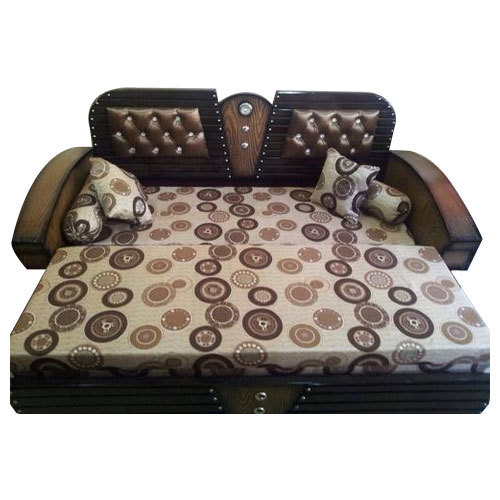 Leatherete Cushion Back Sofa Cum Bed Rs 15000 Piece