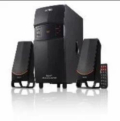 Black Philips Speaker 2.1 Channel Mms2550F