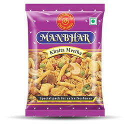 Manbhar Khatta Meetha Namkeen, Packaging Size: 15 Gms