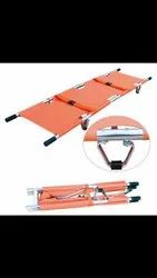 SHREESAFE Folding Two Fold Stretcher, For Rescue And Hospital Use, Packaging Type: Bag Packing