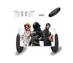 ROQ Pubg controller trigger With Portable Handle Extended Mobile Game Controller Gamepad