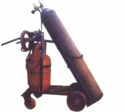 Double Gas Cylinder Trolley ( LPG Oxygen Gas Cylinder Trolley)