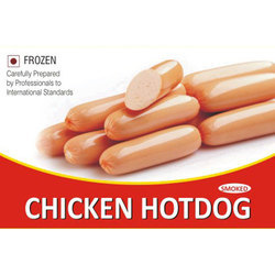 Chicken Hot Dog, Packaging Type: Packet