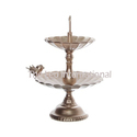 Decorative Metal Cake Stand Golden Color