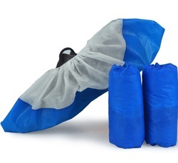 Plain Disposable Anti Static CPE Shoe Cover