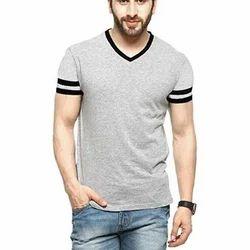 Small And Medium Cotton Mens T Shirt