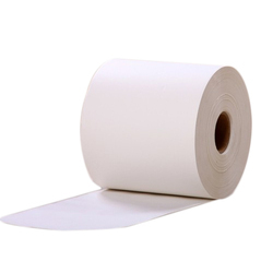 White Adhesive Coated Paper Roll, GSM: Less Than 80