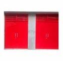 Louvered Steel Door