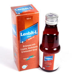 B Complex With L-Lysine Multivitamin Antioxidant Syrup