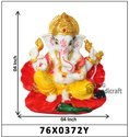 Lord Shri Ganesha Car Dashboard Statue or Showpiece Gift Item